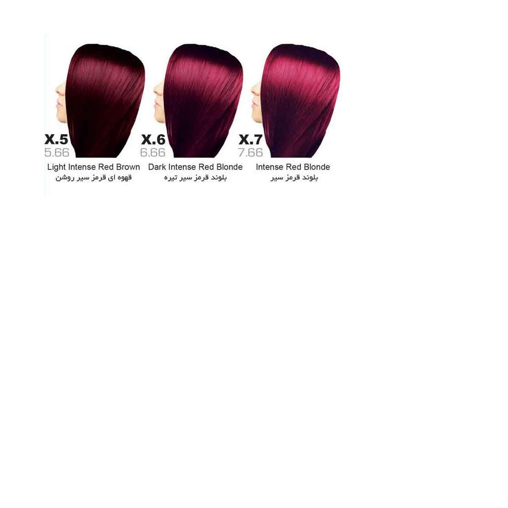 رنگ مو سون تایم | سری X (قرمز سیر)