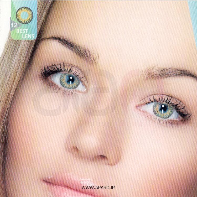 لنز رنگی آی سی ویژن شماره 12