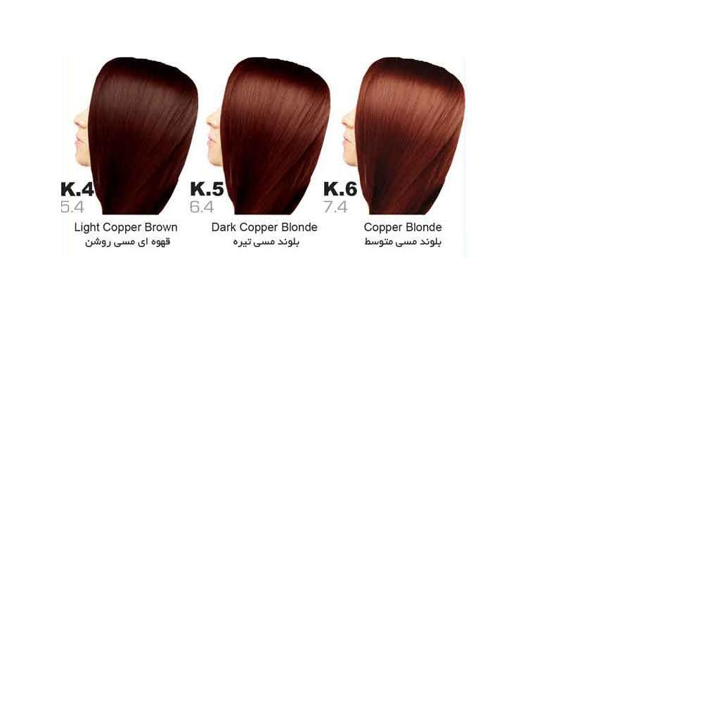 رنگ مو سون تایم | سری K (مسی)