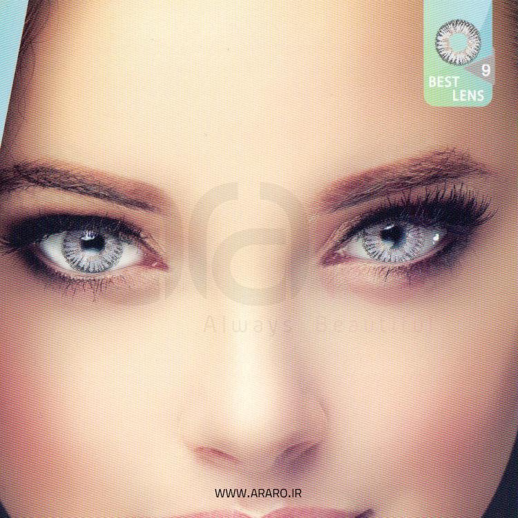 لنز رنگی آی سی ویژن شماره 9