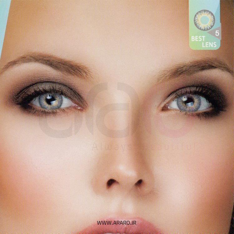 لنز رنگی آی سی ویژن شماره 5