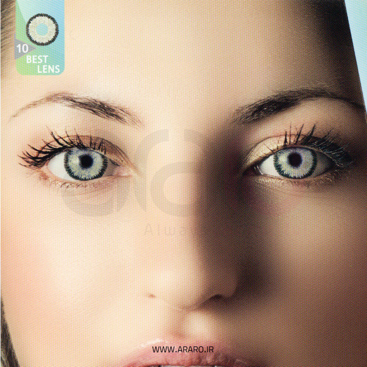 لنز رنگی آی سی ویژن شماره 10