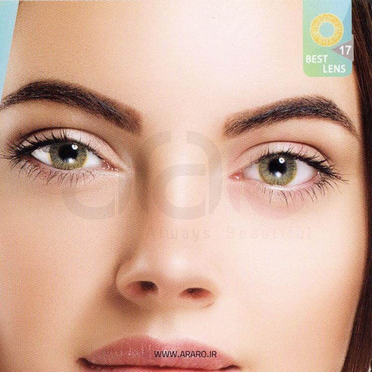 لنز رنگی آی سی ویژن شماره 17