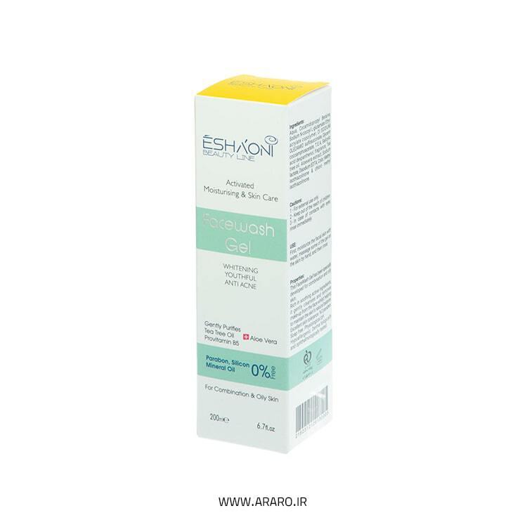 ژل شستشوی صورت اشااونی مدل Anti Acne حجم 200 میل