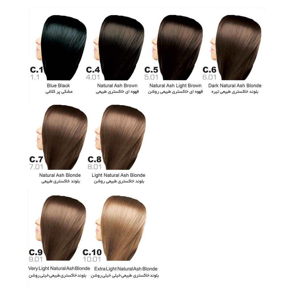 رنگ مو سون تایم | سری C (خاکستری)