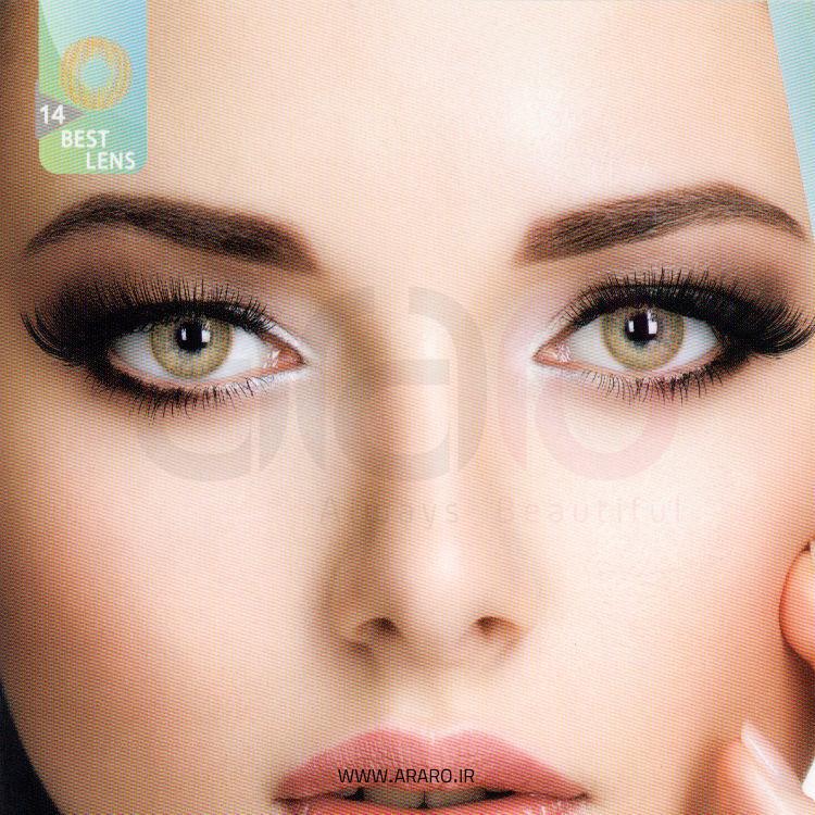 لنز رنگی آی سی ویژن شماره 14