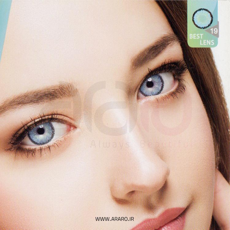 لنز رنگی آی سی ویژن شماره 19