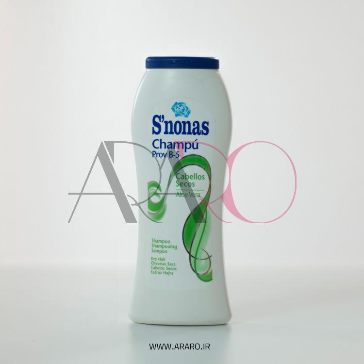 شامپو اسنوناس مخصوص موهای خشک حجم 300 میل