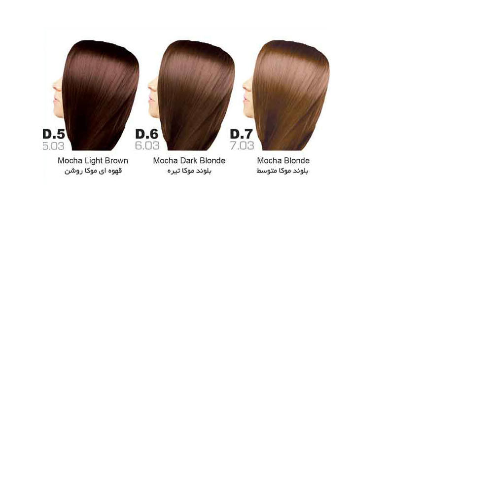 رنگ مو سون تایم | سری D (موکا)