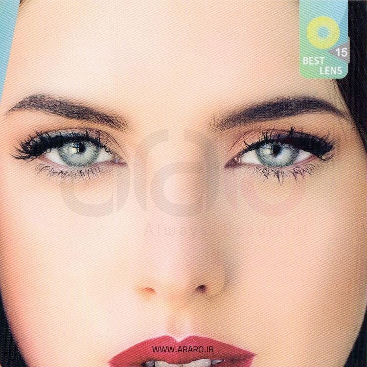 لنز رنگی آی سی ویژن شماره 15