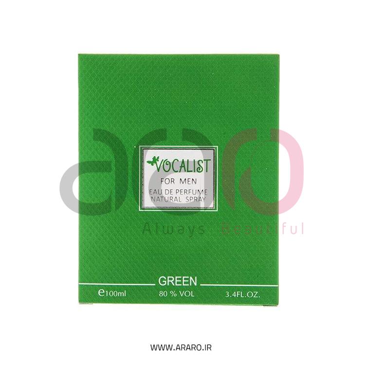 ادو پرفیوم مردانه وکالیست مدل Green حجم 100 میل