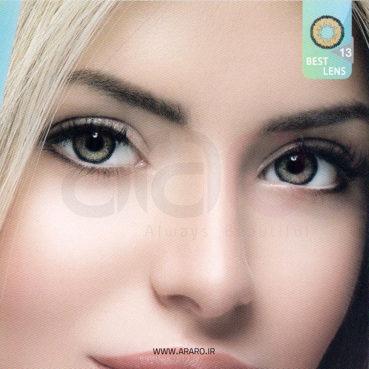 لنز رنگی آی سی ویژن شماره 13